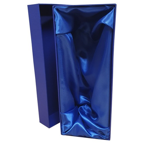 BLUE PRESENTATION BOX FITS 1 CHAMPAGNE