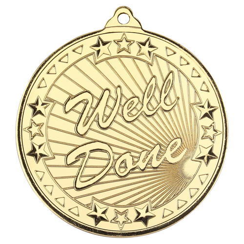 WELL DONE 'TRI STAR' MEDAL